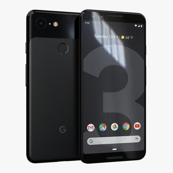 google pixel 3 just 3D model