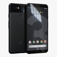 google pixel 3 just 3D model
