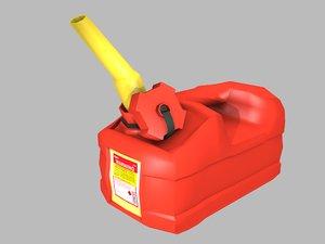 3D jerrycan