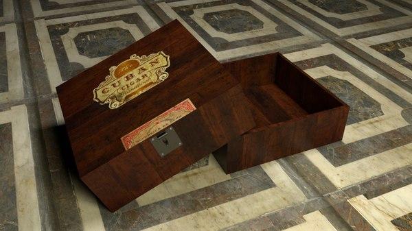 3D cigar box