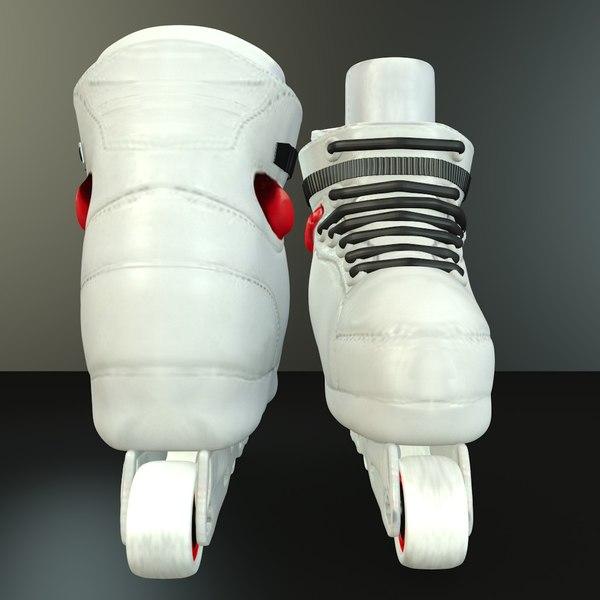 3D skates inline