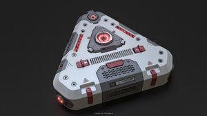 sci fi power 3D