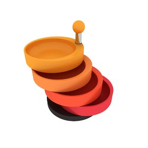 3D snack tower emsa