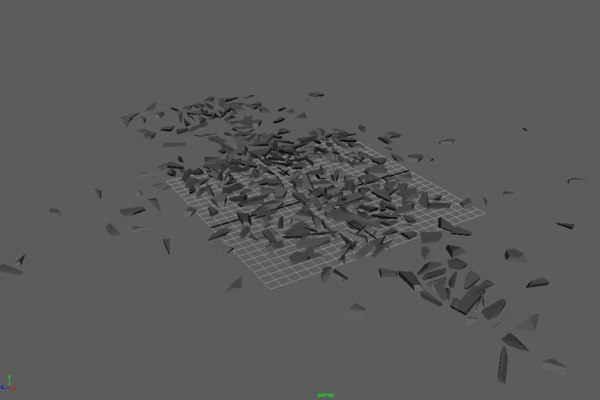 3D explosion cache