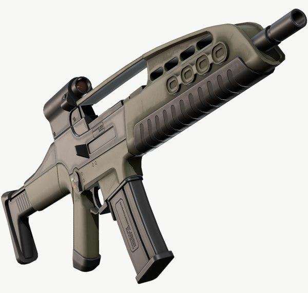 3D model xm8 xm 8