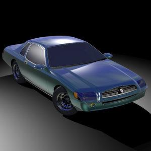sport coupe 3D model