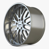 tsw wheel car 3D model