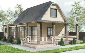 3D exterior modern style