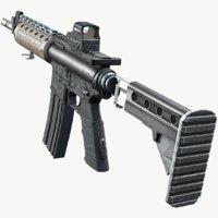 lr-300 sight pbr 3D model