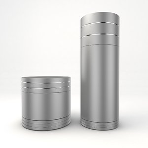 cosmetic bottle tube 3D model