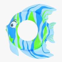 3D model ring fish