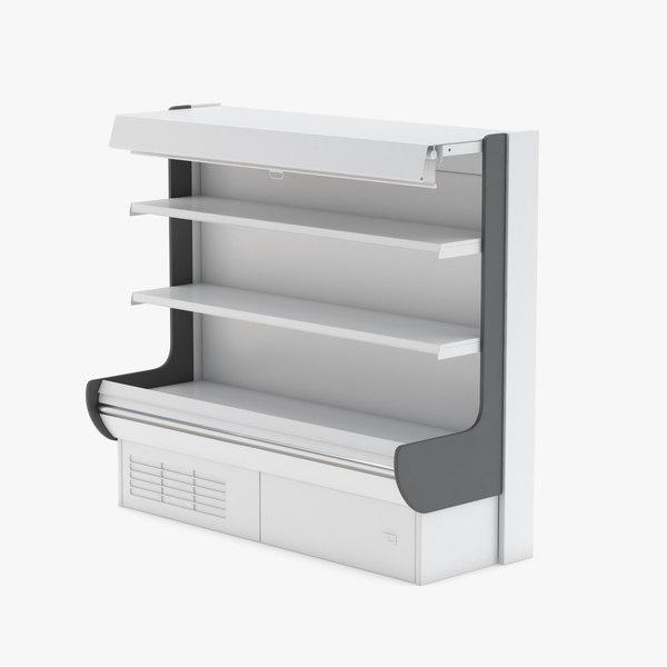rack supermarket market 3D model