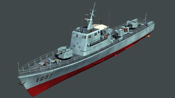 type 062 class fast 3D