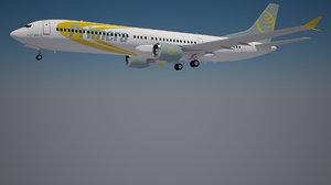 primera boeing 737 9 3D model