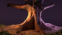 3D tree trunk 20