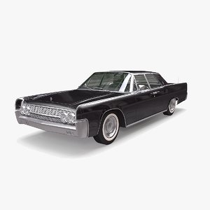 3D continental 1962 model