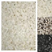 3D restoration rugs hexa hide model