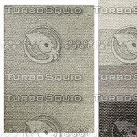 3D restoration wool rug chunky model