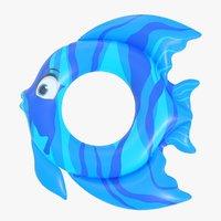 3D ring fish model