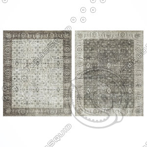 restoration rugs fino 3D model