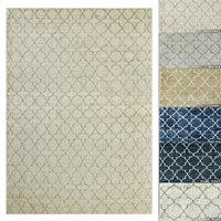 restoration rugs moroccan trevo 3D model