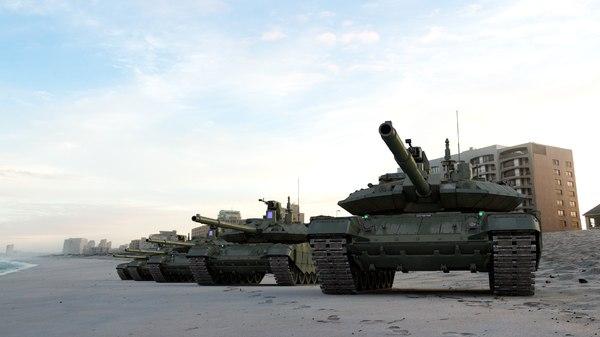 main battle tank t-90 model