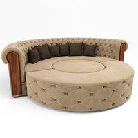 Rounded Sofa Set