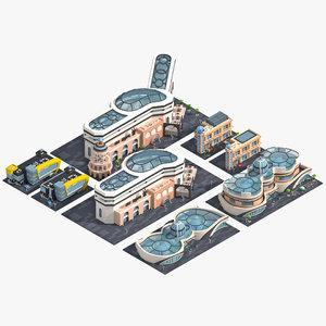 3D model buildings upgrade