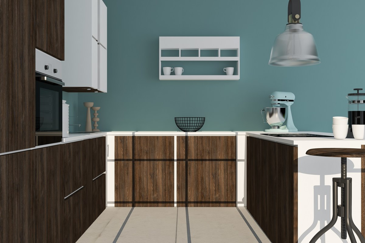 kitchen industrial 3D model
