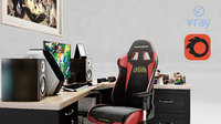 Gamer Desk League of Legends