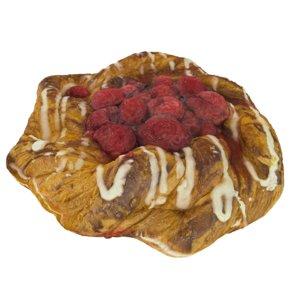 pastry raspberries model