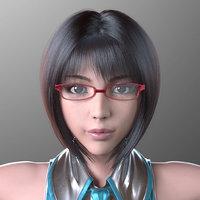 3D model female body sayuri kouzuki