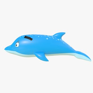 3D ring dolphin