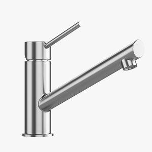 taps sink production 3D model