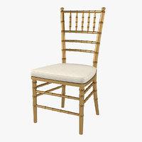 3D wedding chair