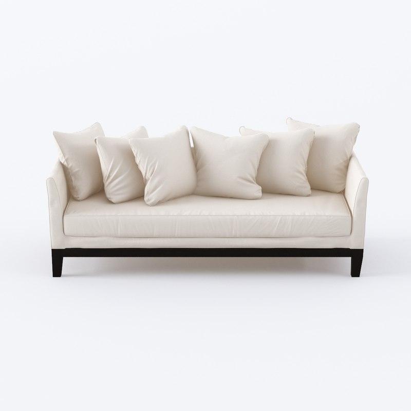 corner sofa 3D