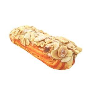 3D model eclair almond