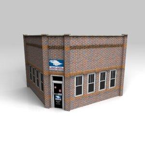 3d model post office