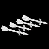 missiles 3D model