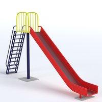 park slide model