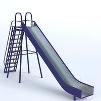 park slide 2 3D model