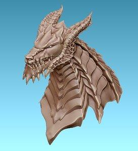 antharas dragon 3D model