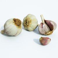 3D garlic set