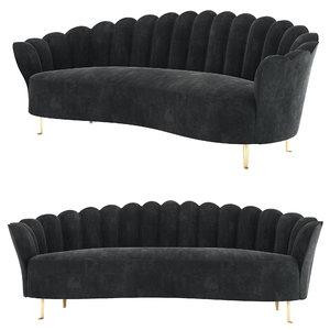 3D sofa eichholtz messina model
