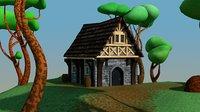 cobble house model