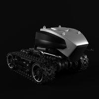 robot caterpillars bot 3D