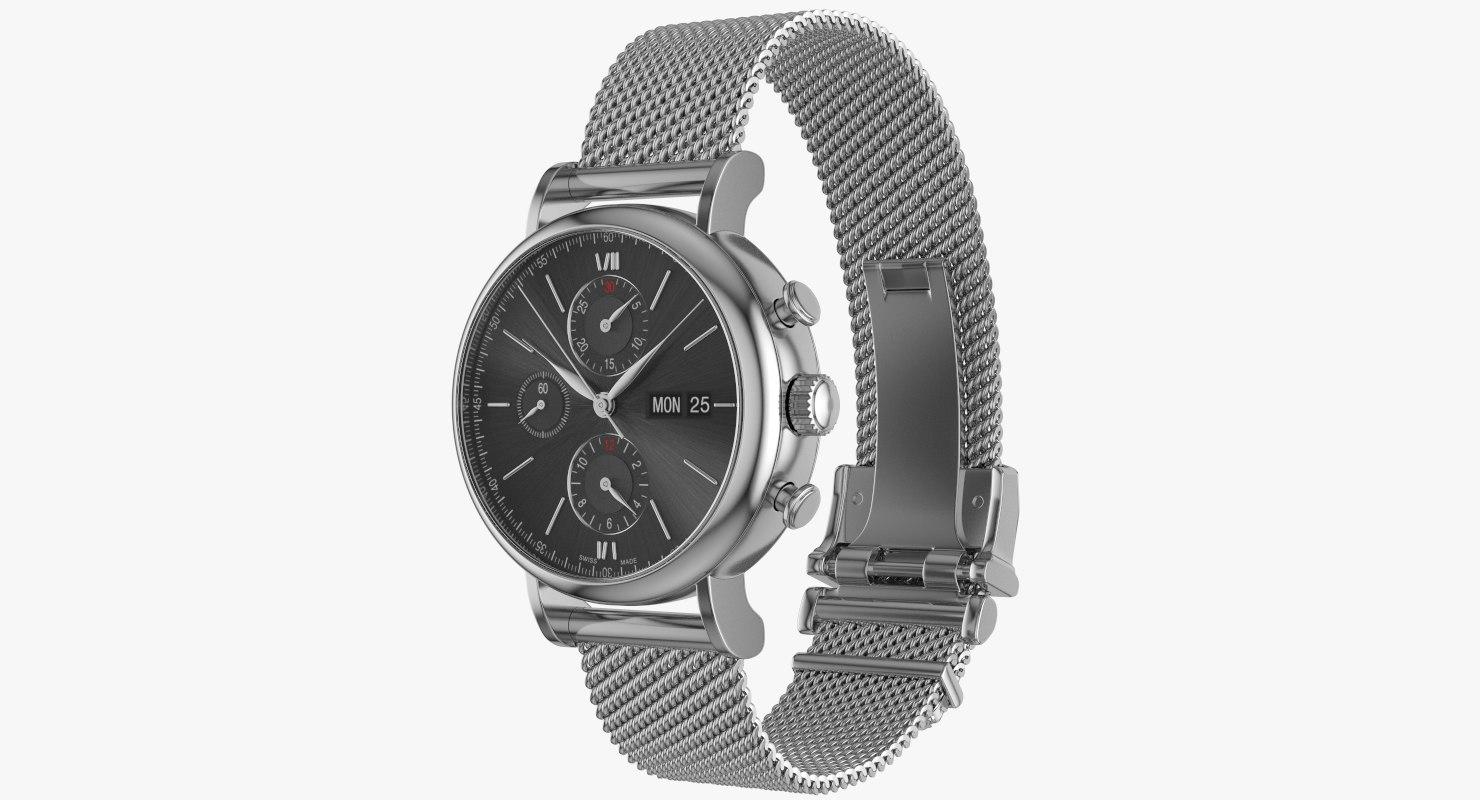 watch milanese 3D