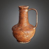 Ancient Clay Pot 01 (TRS) - PBR Game Ready