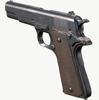 1911 colt ready 3D model