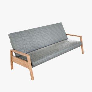 lightwave sofa cushion 3D